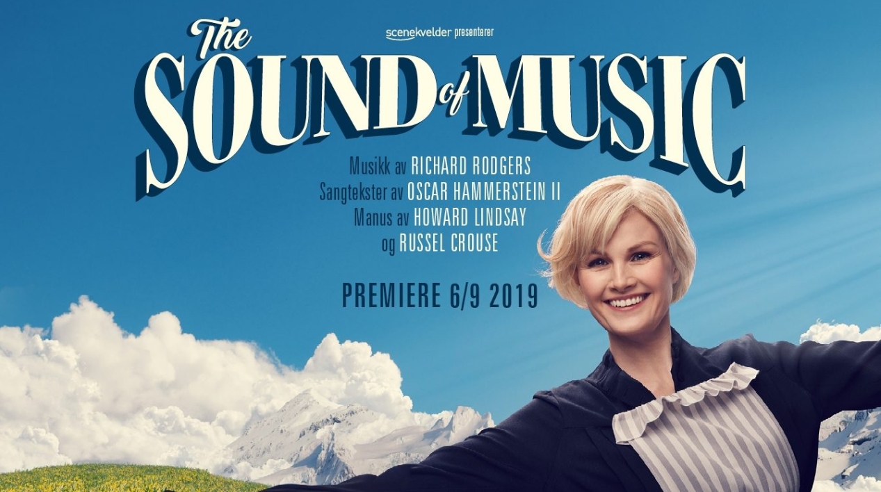 Promobilde for The sound of music Folketeateret