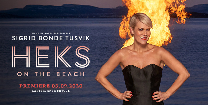 Promobilde for Sigrid Bonde Tusvik Heks on the beach Ole Bull Scene hotellpakke med billetter