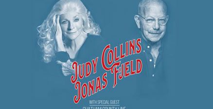 Link til Judy Collins & Jonas Fjeld Winther Stories Grieghallen hotellpakke med billetter