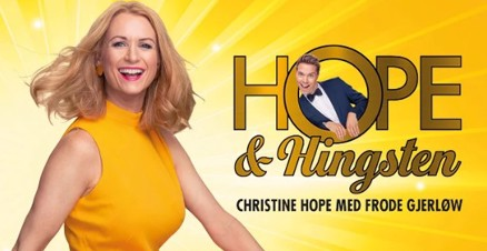 Link til Christine Hope og Hingsten Ole Bull Scene 2020 hotellpakke med billetter